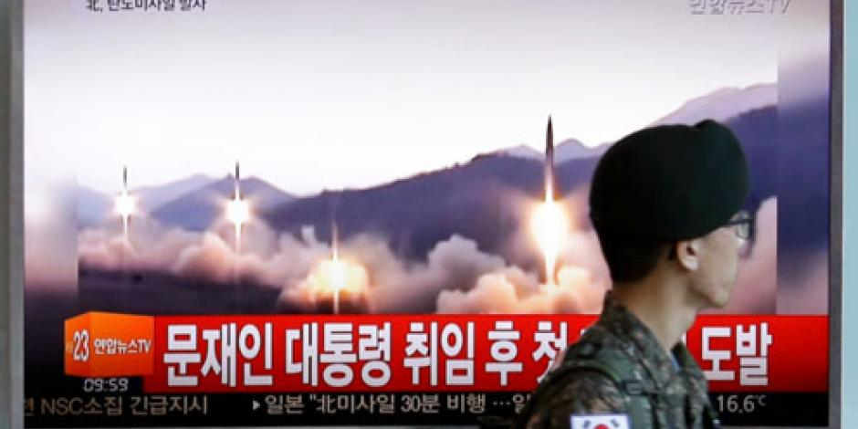 México condena el lanzamiento de misil por Corea del Norte