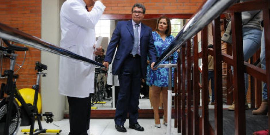 Monreal reabre centro de terapia física en la Cuauhtémoc