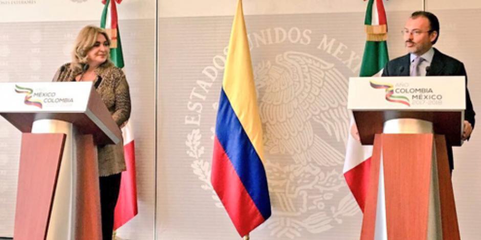 Anuncian Año Dual México-Colombia 2017-2018