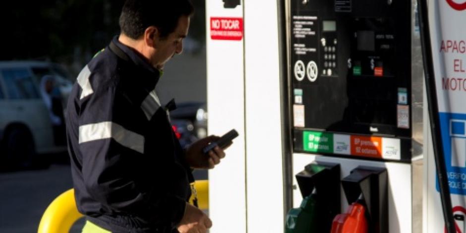 Gasolinas y diésel cuestan un centavo más este fin de semana