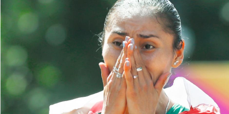 Lupita alcanza segunda plata, ahora en Mundial