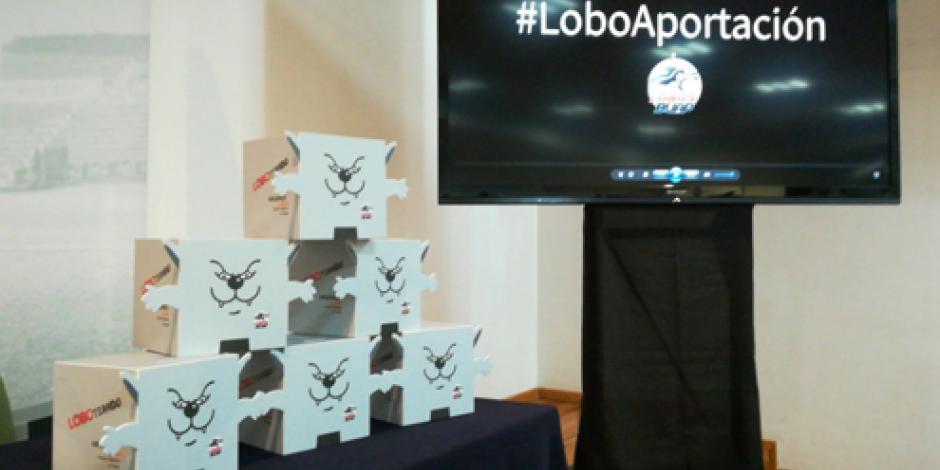 """Los Lobos piden """"Loboaportación"""" a aficionados"""