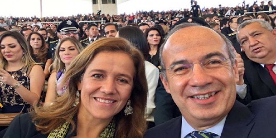 Ni ordené ni autoricé exoneración de Moreira, responde Calderón  a AMLO