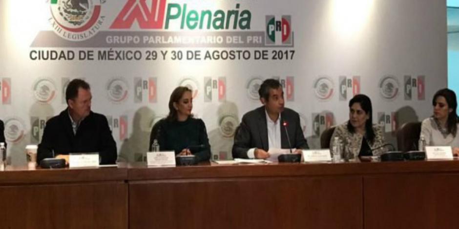 "PRI no aceptará guerra de ""niño llorón"", afirma Ochoa Reza"