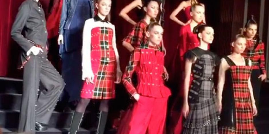 Mexicano presenta colección de Alta Costura en Fashion Week París