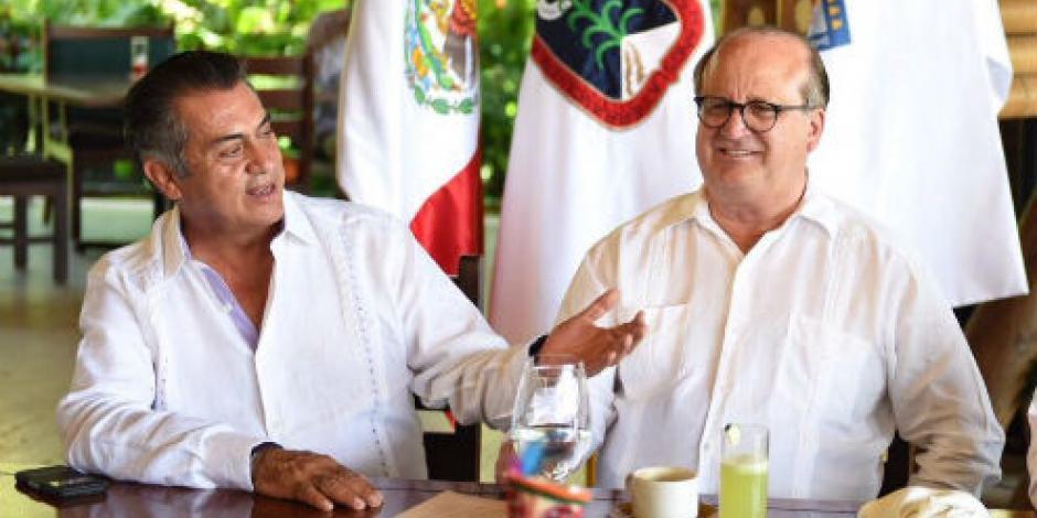Morelos y NL buscan alianzas comerciales