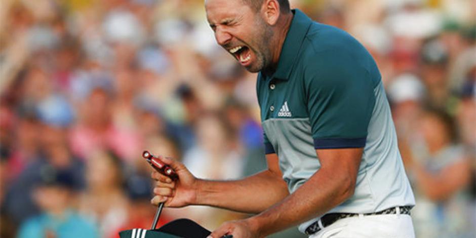 Sergio García se lleva el saco verde al ganar el Masters de Augusta