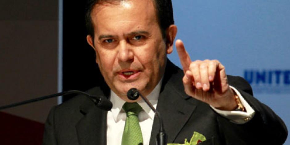 No aceptaremos establecimiento de aranceles en el TLCAN, advierte Guajardo