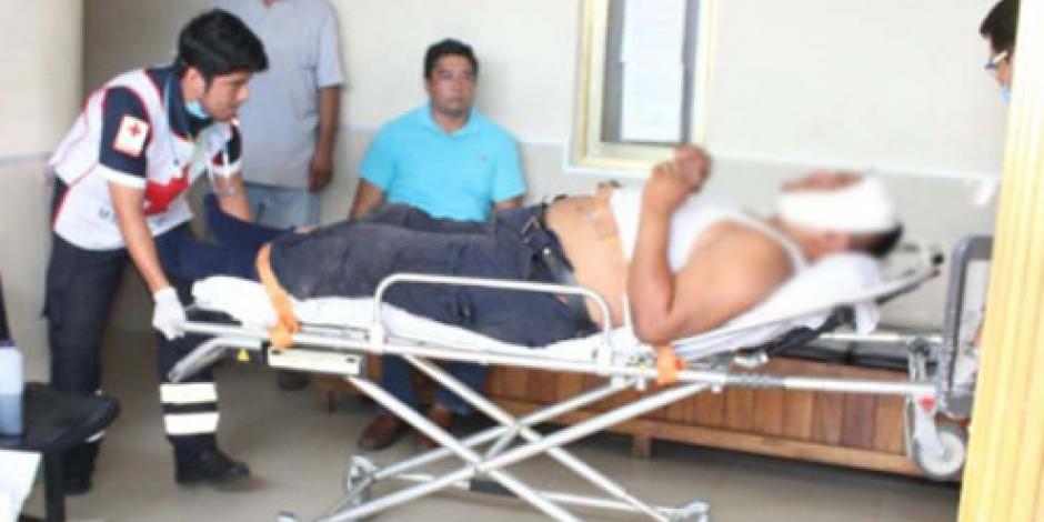 Se enfrentan policías y huachicoleros en Tabasco