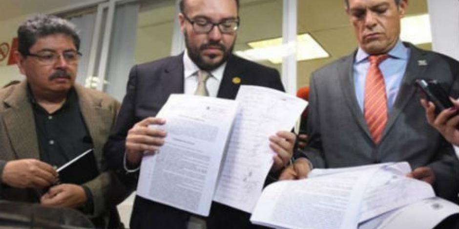 Inicia proceso de destitución del jefe delegacional en Tláhuac