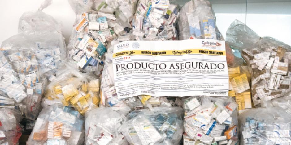 Confiscan medicinas apócrifas