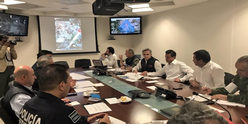 Gobierno Federal apoyará a damnificados de la CDMX: EPN