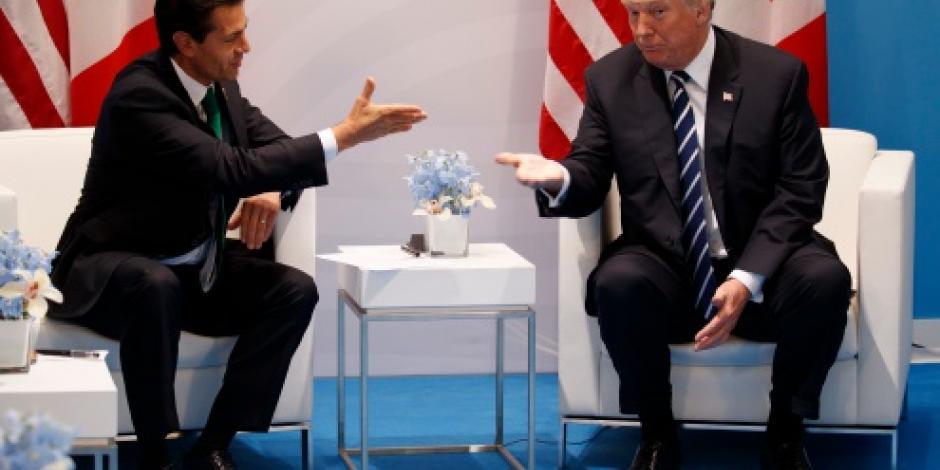 Muro, no fue tema de conversación en reunión de EPN y Trump, afirma Videgaray