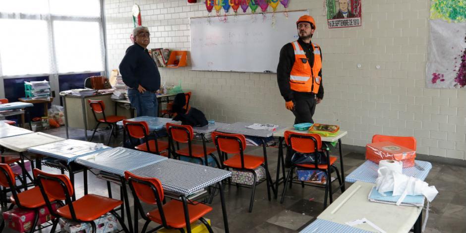 Prevé SEP reconstruir 400 escuelas tras sismo, reporta Nuño