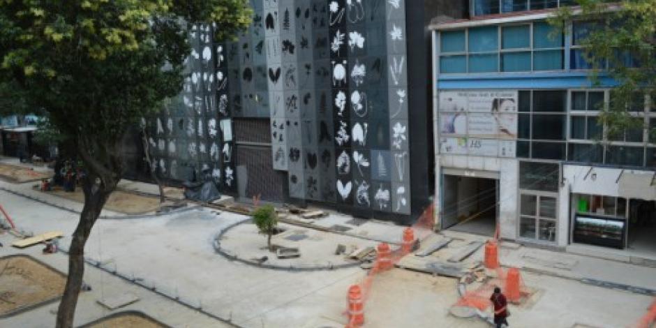 Abren calles de la Zona Rosa tras remodelación