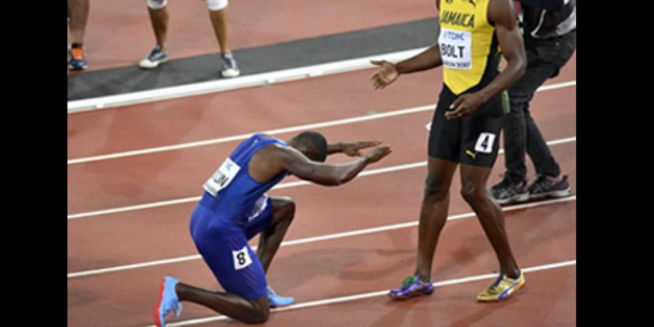 Con bronce se despide Usain  Bolt de 100 metros en Mundiales de Londres
