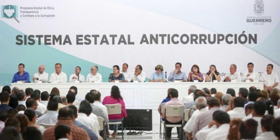 Impulsa Héctor Astudillo medidas contra la corrupción