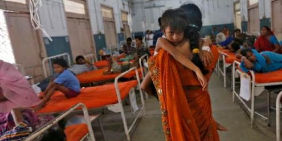 Por negligencia médica mueren 70 niños en hospital de la India
