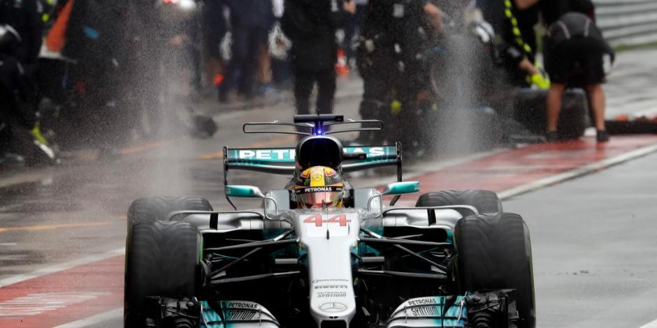 Hamilton supera a Schumacher con <em>pole</em> para GP de Italia