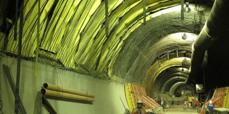 Con nueva lumbrera, avanza ampliación de L-12 del Metro