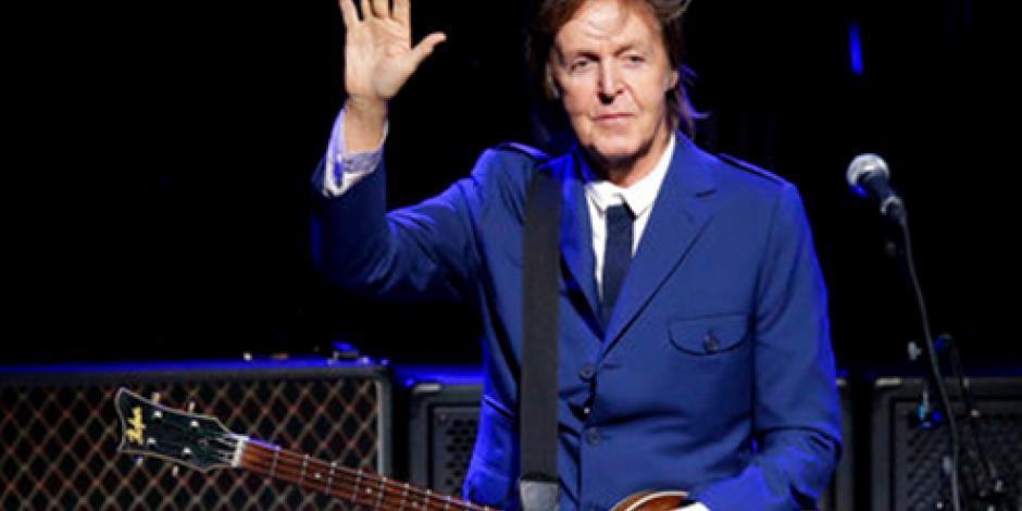 Paul McCartney regresa a México el próximo 28 de octubre