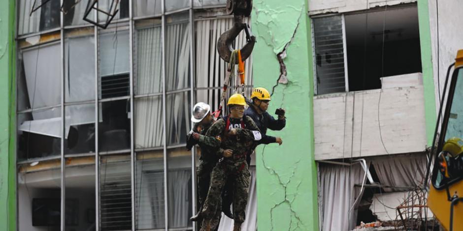 Labores de rescate aún no terminan...