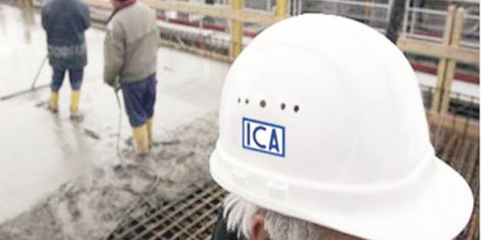 Con reestructura, ICA baja ingresos