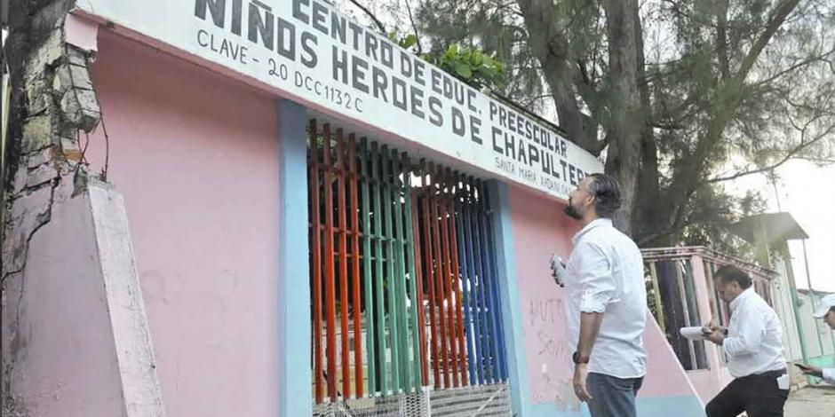 CNTE condiciona la revisión de escuelas