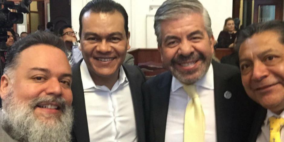Juan Zepeda da espaldarazo a Mancera en Quinto Informe