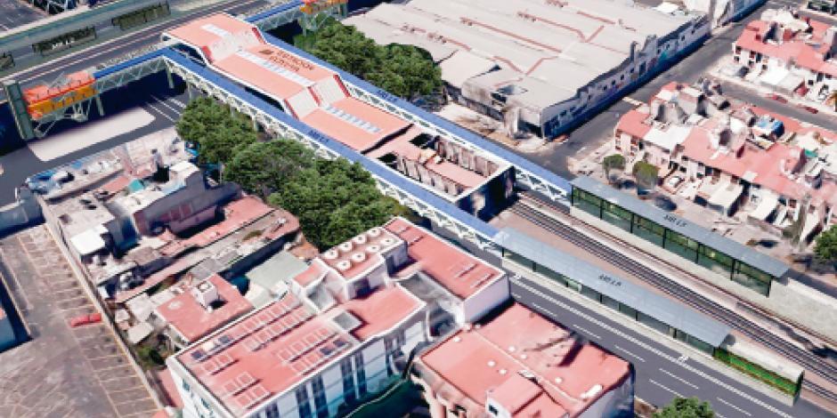 Metrobús 5 tendrá dos estaciones elevadas