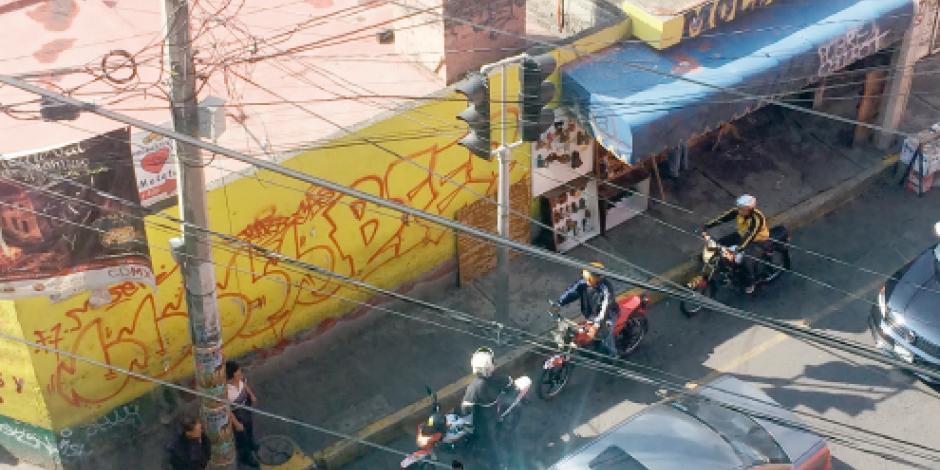 Sin calandrias, los mototaxis operan en la Nopalera