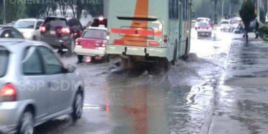 Siguen las inundaciones en la CDMX por lluvias