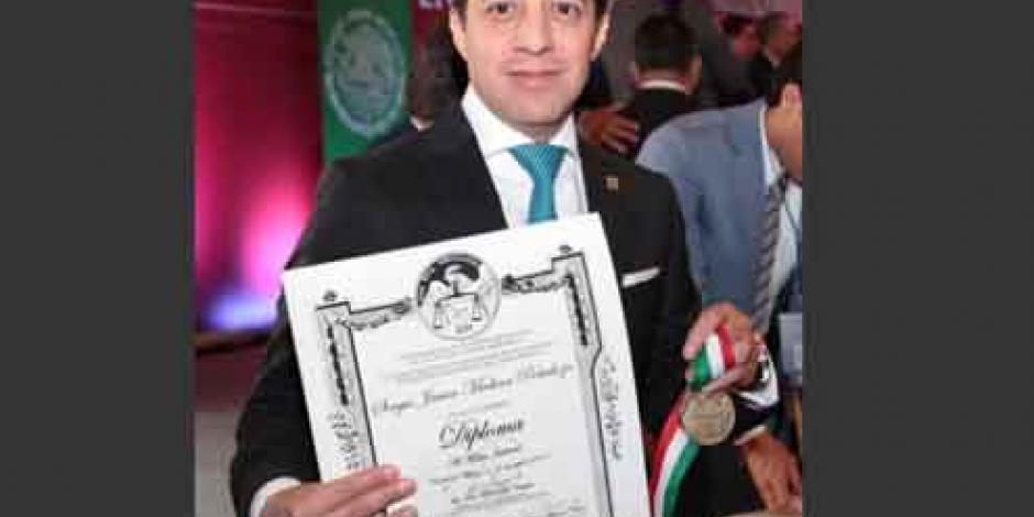 Reconocen labor del titular del Poder Judicial mexiquense