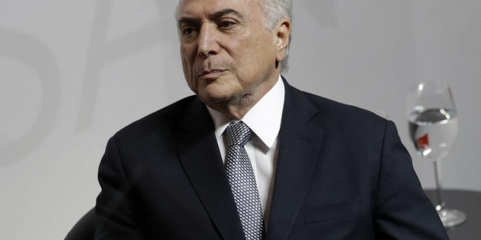 Preparan nueva denuncia contra el presidente de Brasil