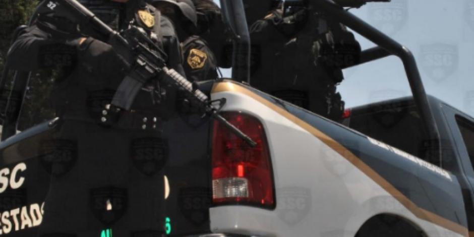 Roban 27 armas a la policía de Jaltenco, Edomex