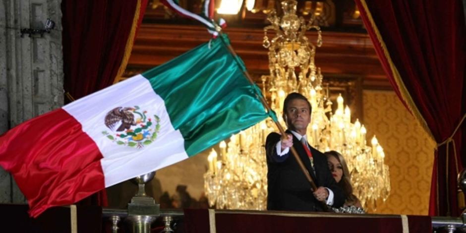 Viva México y la solidaridad con Chiapas y Oaxaca, grita EPN