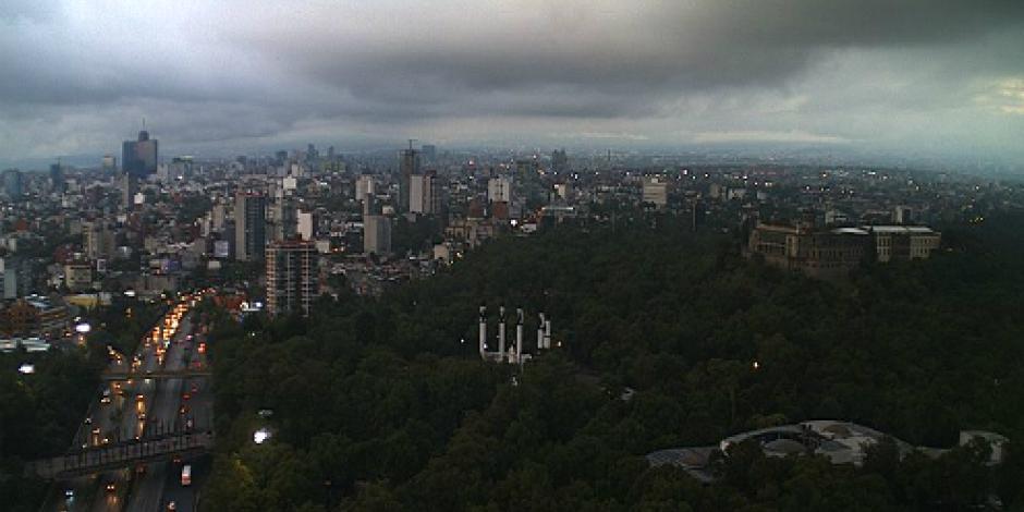 Buena, calidad del aire en el Valle de México; lluvias despejan el cielo
