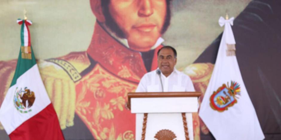 Presiden Héctor Astudillo y Calzada Rovirosa el natalicio de Vicente Guerrero
