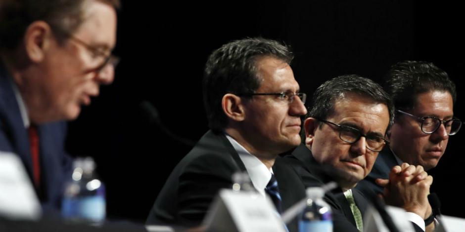 Analizan Guajardo y Videgaray en EU primera ronda del TLCAN