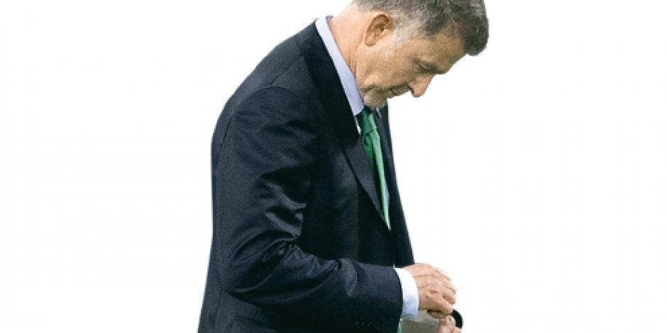 Las rotaciones  de Osorio ponen  en aprietos al Tri