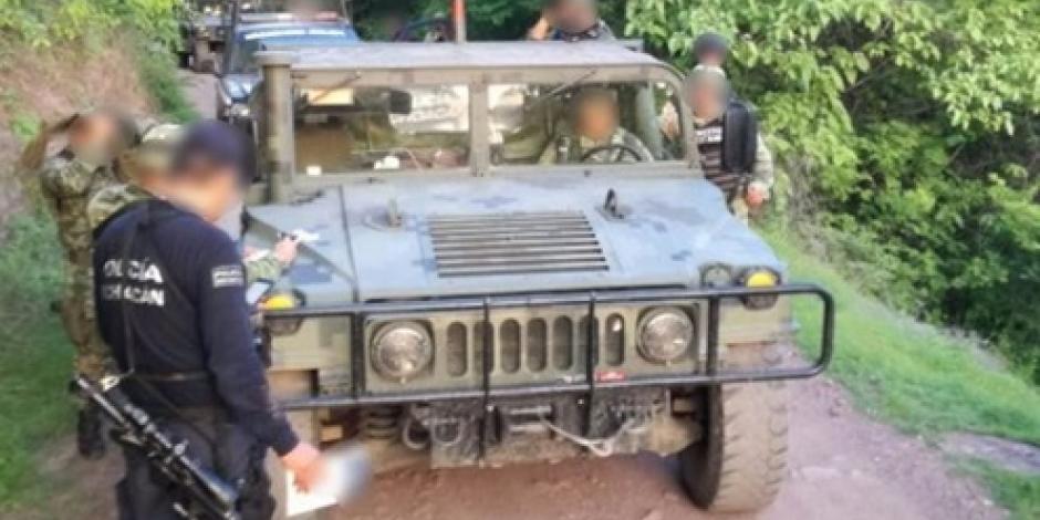 Civiles armados agreden a militares en Michoacán