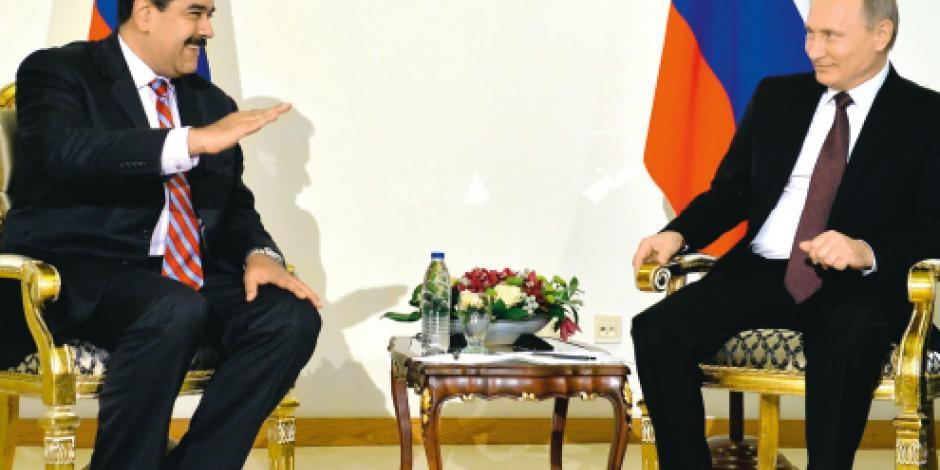 Putin financia la dictadura de Maduro  a cambio de petróleo