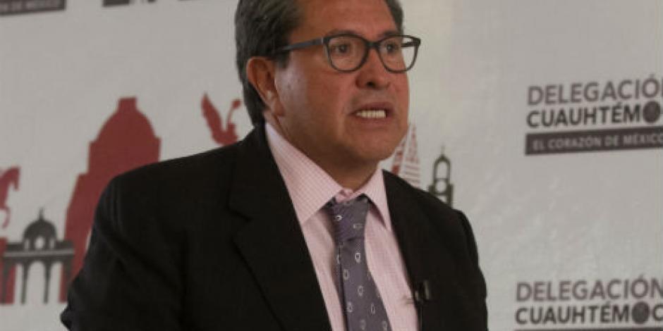 Monreal impulsa campaña contra la trata