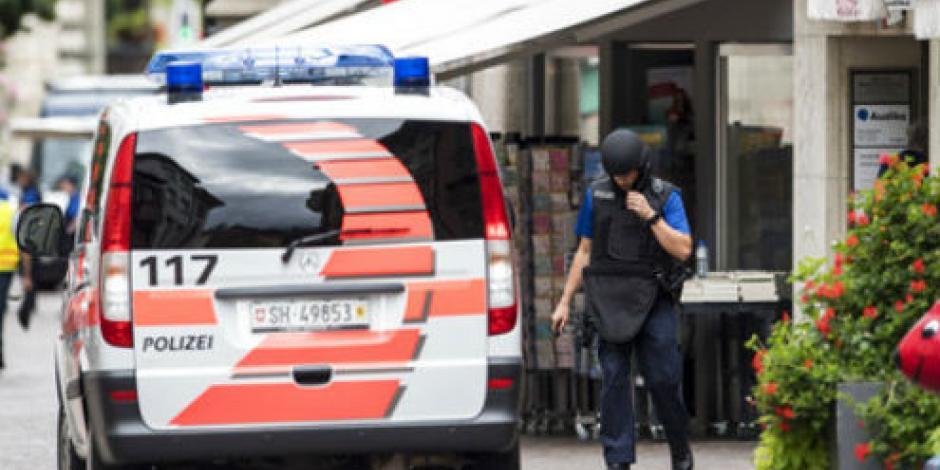 Suiza: hombre armado con motosierra hiere a 5 y huye