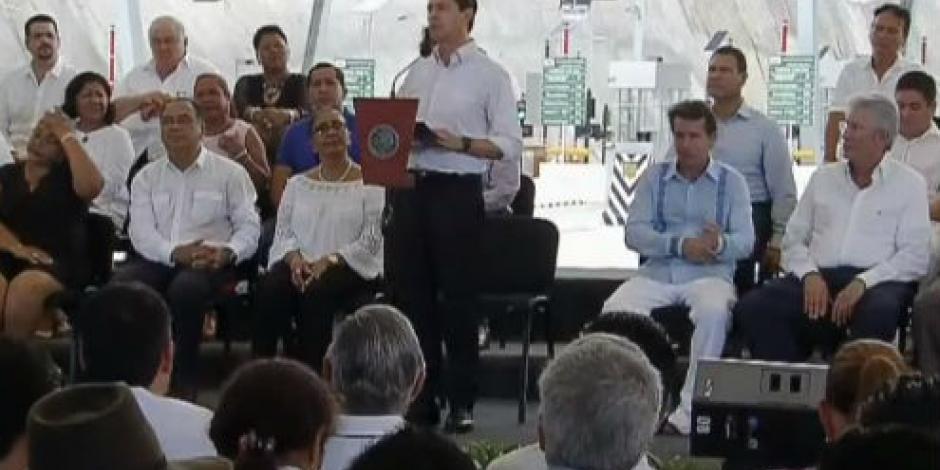 Refrenda EPN apoyo en infraestructura para crecer inversión en el país