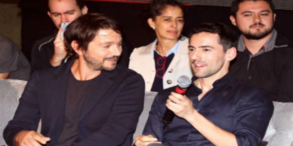 Diego Luna y Luis Gerardo protagonizan la obra