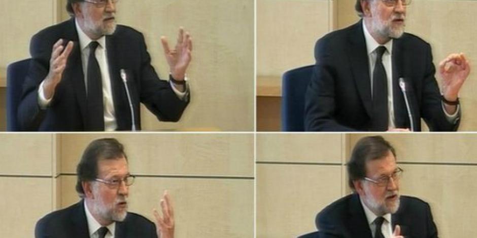 Niega Mariano Rajoy que haya conocido sobre malos manejos del Partido Popular
