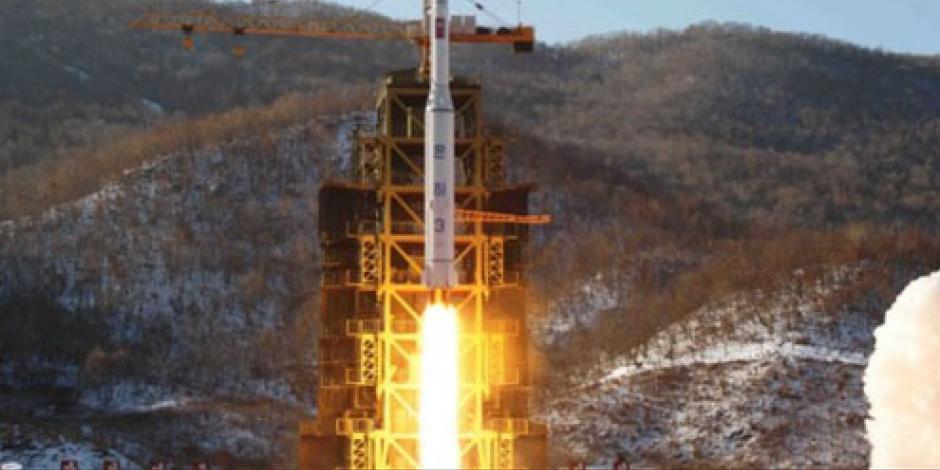 Realiza Corea del Norte ensayo de propulsor misil