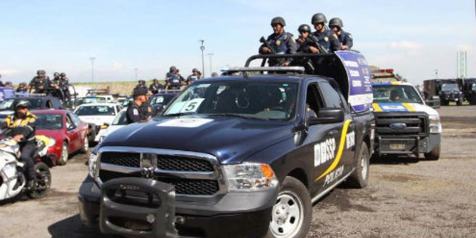 Mancera despliega a mil 200 elementos de seguridad en Tláhuac