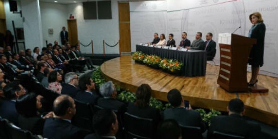 Arely Gómez, lista para asumir control interno de funcionarios federales por SNA